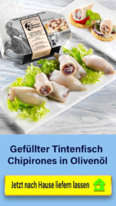 Gefüllter Tintenfisch Chipironese