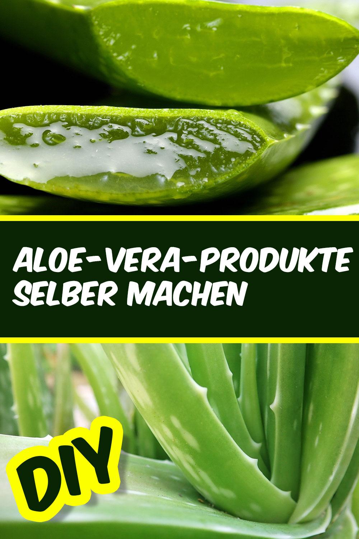 DIY - Aloevera Produkte selber machen